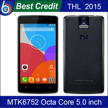 100% Original THL 2015 MTK6752 1.7Ghz Octa Core 5 Inch 4G LTE FDD IPS FHD 2GB RAM 16GB ROM WCDMA Android 4.4 Mobile Phone/Eva(China (Mainland))