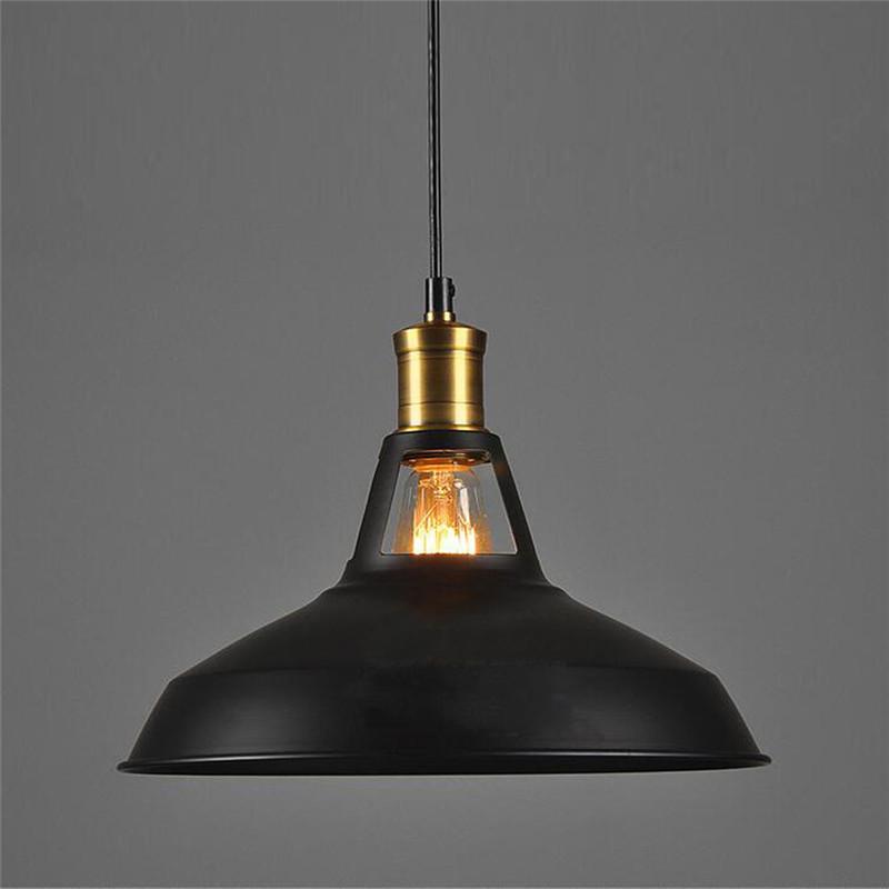 Vintage loft industriale lampada bar lampadario luce retro vintage