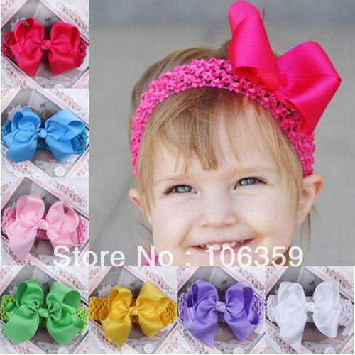 Crochet Pattern Central Baby Headbands : Free Crochet Baby Accessories images