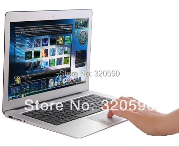 DHL FREE HOT 14 inch Dual Core laptop tablet pc 4GB DDR3 500GB win 7 Air Book D2500 Notebook Computer PC ultrabook cheap laptops(China (Mainland))