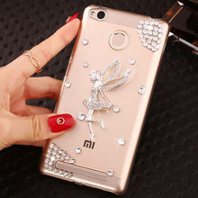 Buy Fashional Luxury Rhinestone Phone Case Xiaomi Redmi3S,Protective 5.0 Inches Shell Back Cover Clear Hard Case Redmi 3Pro for $3.94 in AliExpress store