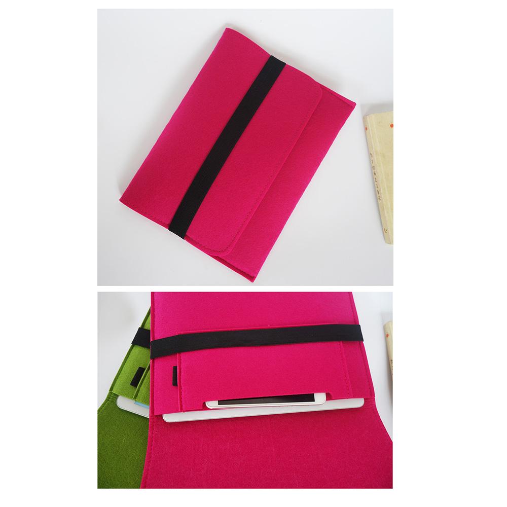 Orange green grey black design Felt Sleeve Case For iPad 5 iPad AIR/AIR2 Tablet bag Universal liner sleeve for apple 9.7 inch(China (Mainland))