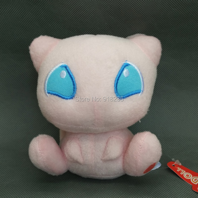 "Free Shipping EMS 30/Lot New Pokemon Plush Doll Stuffed Soft Toy MEW 5""(China (Mainland))"