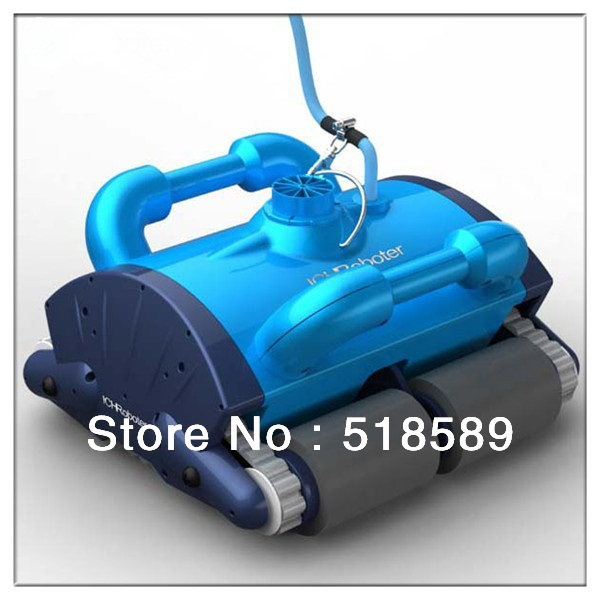 Blue Color Swimming Pool Robot Auto Cleaning Equipment White Color Robotic Vacuum Pool Cleaner