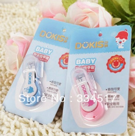Free shipping baby nail clippers nails knife baby child newborn special safety nail clippers nail scissors slip(China (Mainland))