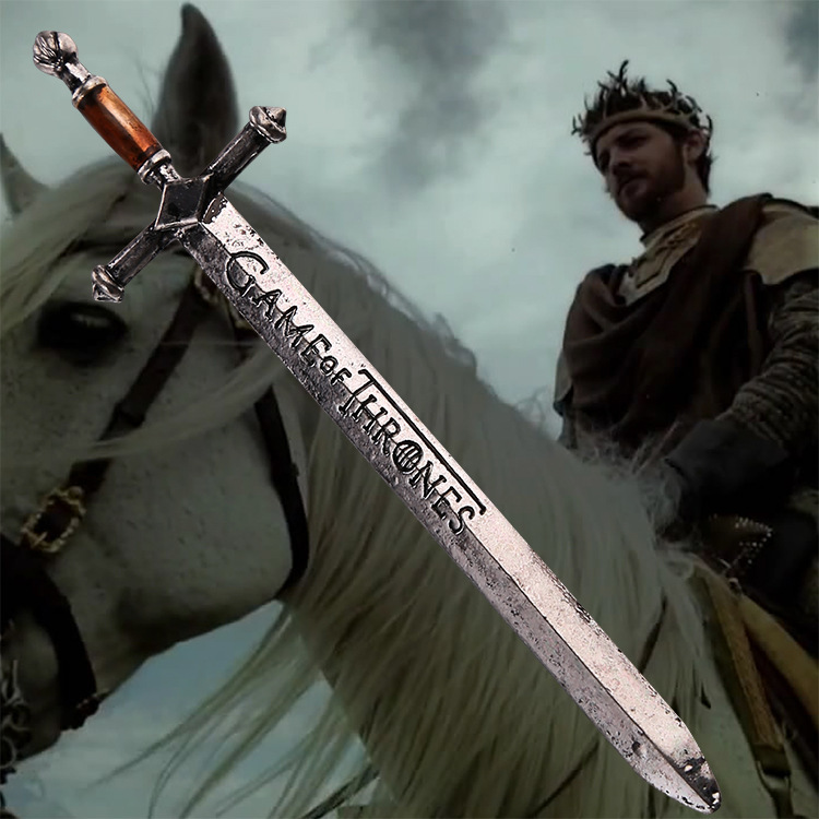 Free Shipping Hot Selling Fashion Retro TV Movie style Game of Thrones Sword Letter Opener Sword