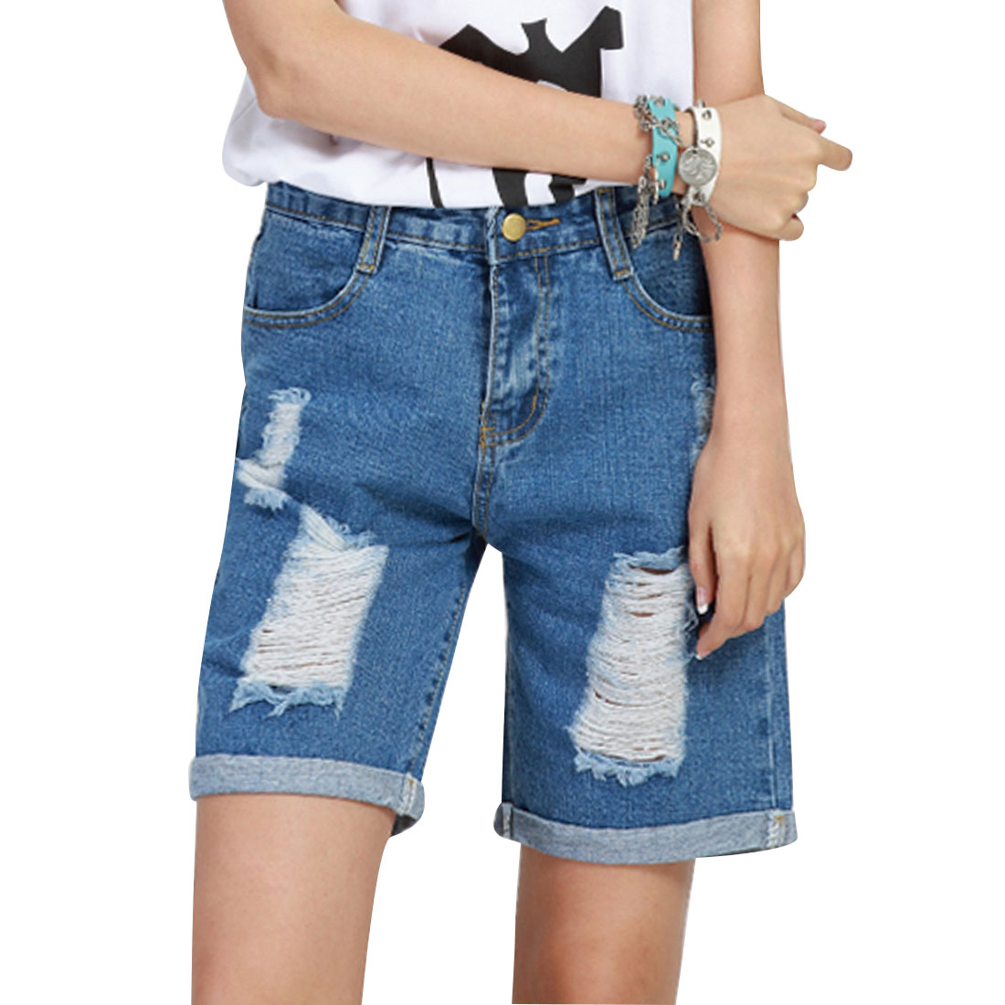 Womens Jean Shorts Sale Promotion-Shop for Promotional Womens Jean ...