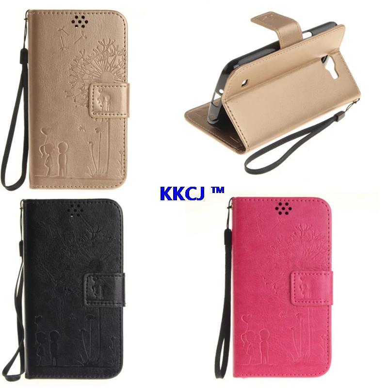 "TX LG K4 Case Luxury PU Leather Card Slot Case LG K4 Lte K120e K130e 4.5"" Flip Protective Phone Shell Back Cover"