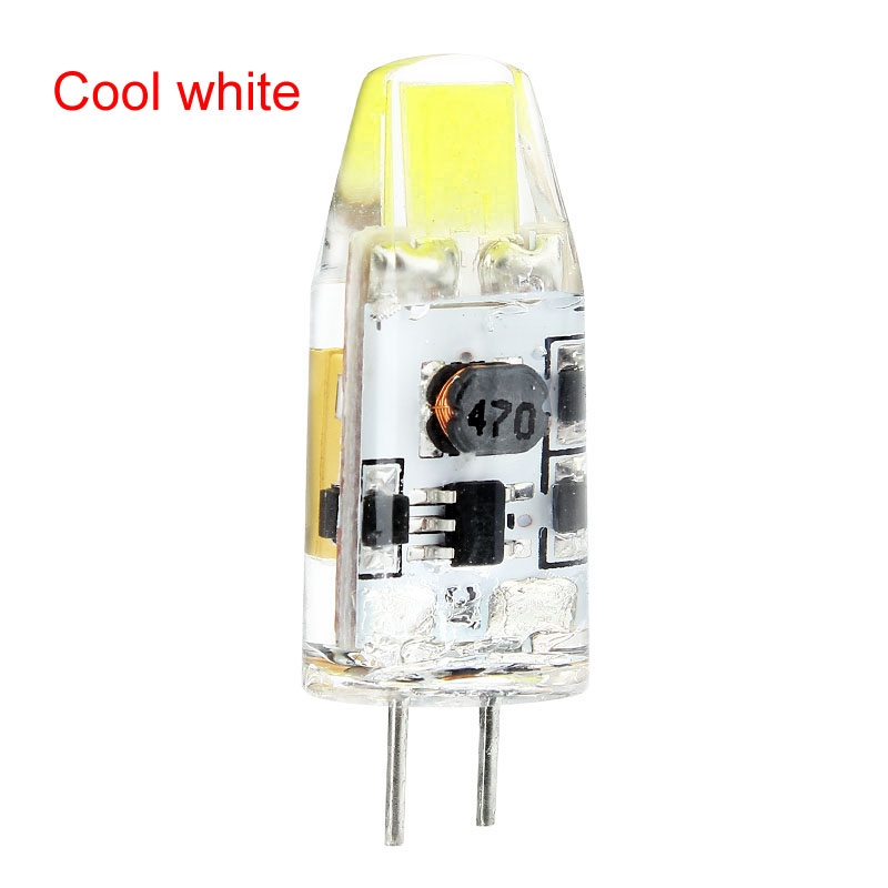 10Pcs G4 COB SMD LED Cool White Light silicagel Lamps Bulb 2W AC/DC 12V stable quality<br><br>Aliexpress