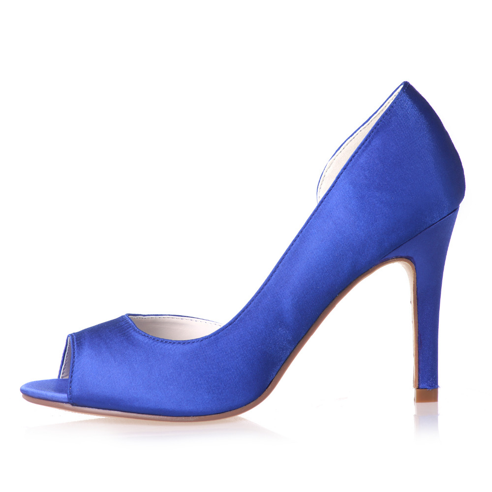 Purple And Blue Heels