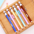 Papeleria Creativa Caneta Escolar Ballpen Office Stationery School Funny Cartoon Doll Feature Novelty Pens For Writting