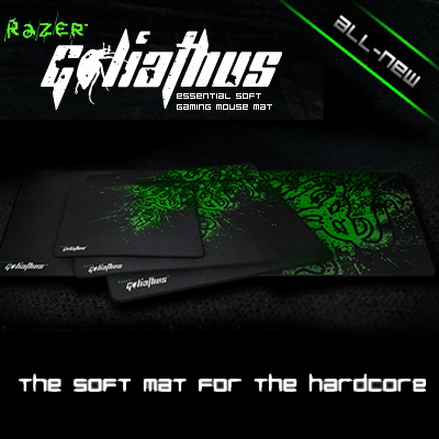 Original Razer Goliathus Medium size Gaming mouse pad, Free & Fast Shipping in Stock.