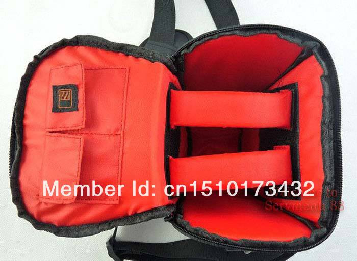 Wholesale New Black Waterproof Camera Case Bag for Canon EOS 600D 550D 500D 400D 450D 60D 50D Camera/Video Bags New Hot Tracking(China (Mainland))