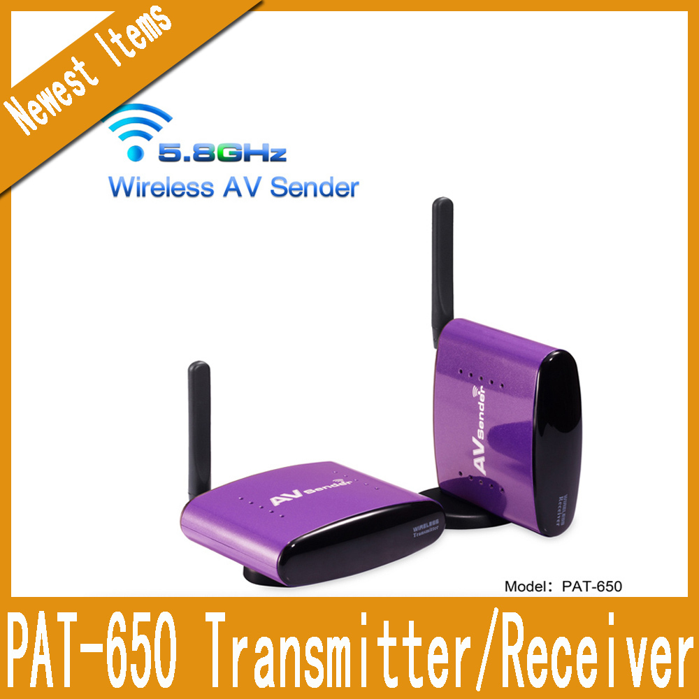 New Hot PAT-6505.8GHz Wireless TV Transmitter and Receiver for CCTV camera(China (Mainland))