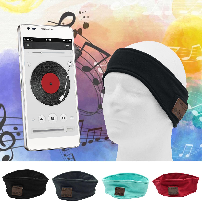 Music Sport Wireless Bluetooth Hands Free Phone Smart Milk Fiber Headband Hair Band Headset for Cellphone Tablet Computer(China (Mainland))