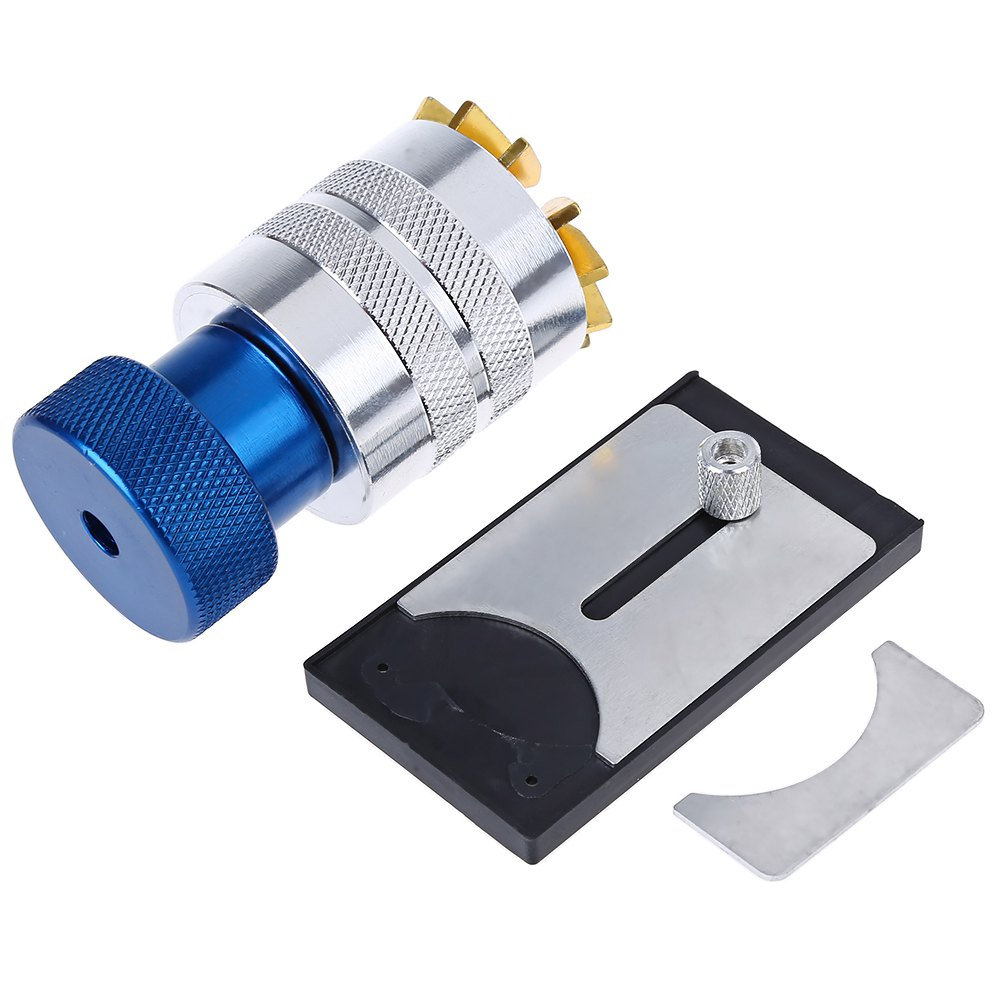 Brass Aluminum Watch Crystal Glass Lift Remover Repair Tool Plastic Crystal Lift Front Case Base Remover Inserter Repair Tool(China (Mainland))