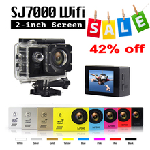 Original SJ7000 Action Camera High Quality IP68 30M Waterproof Full HD 1080P 170 Degree Lens 2.0′ LTPS Low-light Camera SJ7000