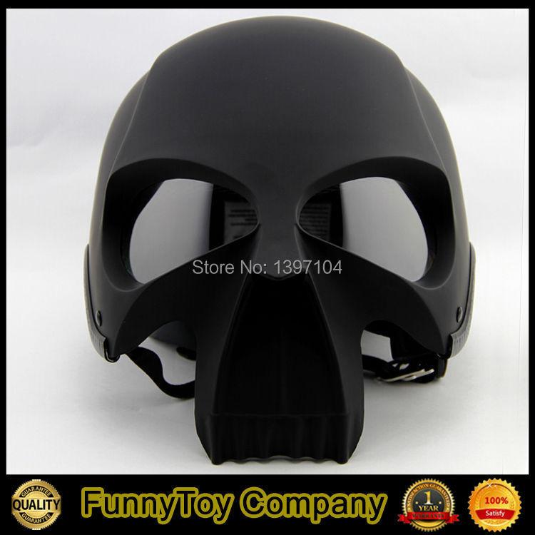 2015 New Casco Casque Casco Casque Safety Black Skull Motorcycle Helmet Popular Cool Skeleton Helmet(China (Mainland))