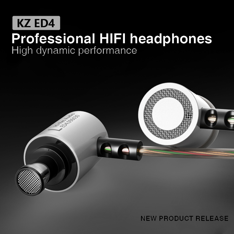 Original KZ Stereo Bass Earphone Research-grade Aluminum Forging Superior Quality Headphone With Min For Phones MP3 Player(China (Mainland))