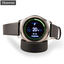 Buy Wireless Charger Portable Wireless Charging Dock Cradle Charger Samsung Gear S3/S2 Classic Gear S3/S2 Frontier Watch for $8.36 in AliExpress store