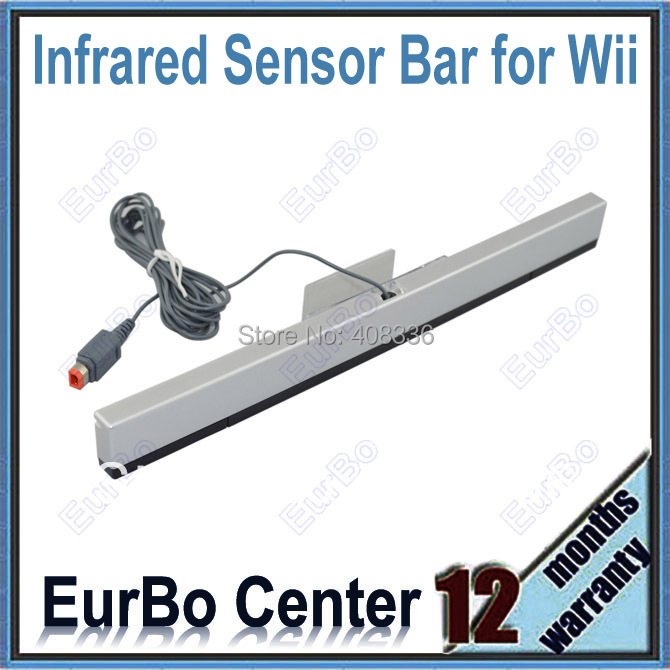 20pcs a lot Wired Sensor Bar Infrared Ray Inductor for Wii (EW051-Wired)<br><br>Aliexpress