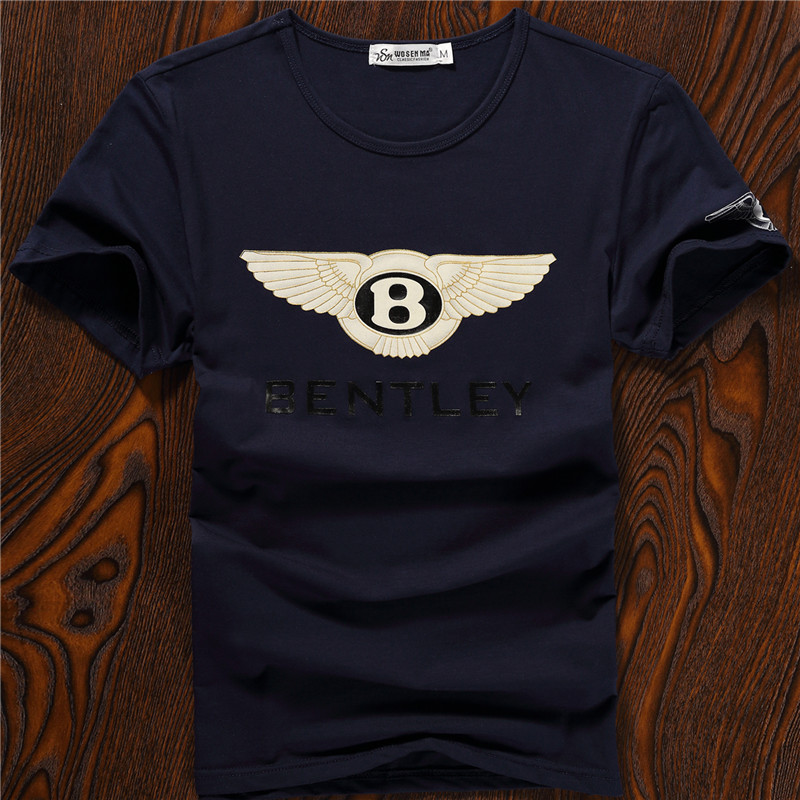 Fashion luxury brands tshirt men short tshirt screen for Luxury t shirt printing