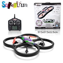 WL Toys V262# Cyclone UFO 2.4Ghz 4 Channel 6 Axis Gyro RC Quadcopter. Free Shipping.