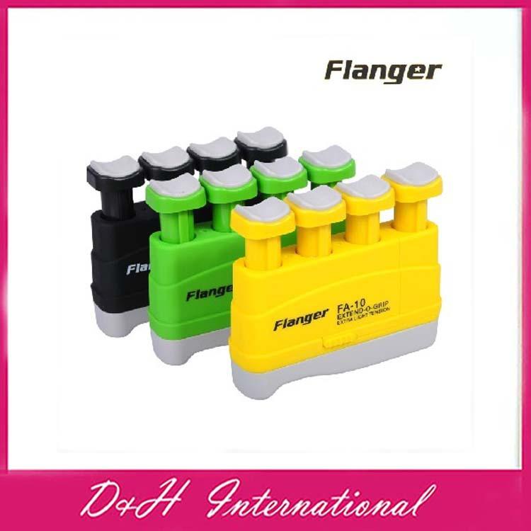 Portable Guitar Bass Piano Hand Finger Exerciser Extend-O-Grip Trainer Black Green I92 Free drop shipping - D&H International Co., Ltd. store