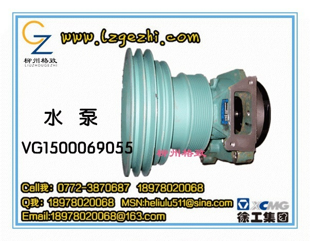 China National Heavy Duty Truck Group Co., Ltd VG1500069055 Water Pump