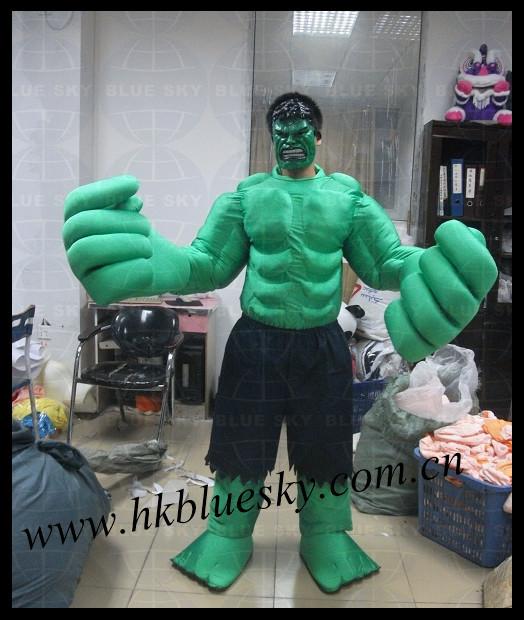 Good Hulk Costume Hulk Mascot Costume