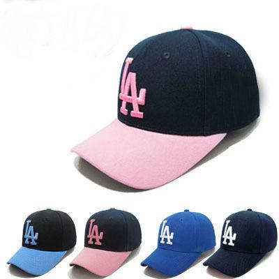 produto 2015 New bboy Baseball Caps LA Dodgers Outdoors Snapbacks Curved Brim Caps Bones Sombrero Hip Hop Hats Chapeu Men Women Gorras