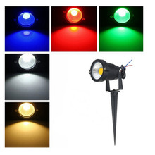 Hot Sale Multicolor Led Garden Lamp Bulb 4W/5W/7W Landscape Lighting Waterproof IP65 Outdoor Lawn Yard Flood Light AC85-265V(China (Mainland))
