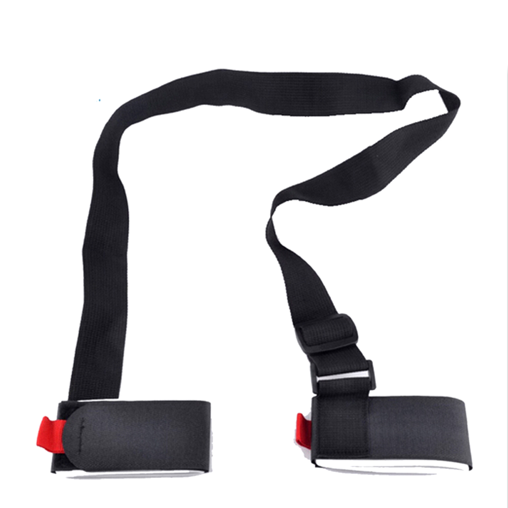 Ski snowboard easy packing strap cross country skiing mountain skiing skiboard board binding protection pole bag carrier(China (Mainland))