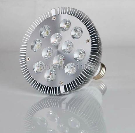 10PCS UL FCC CE RoHS E27 E26 12W Par38 led spotlights warm Cool white PAR38 Bulb 85-256V with 12 LEDS Light warranty 5 years(China (Mainland))