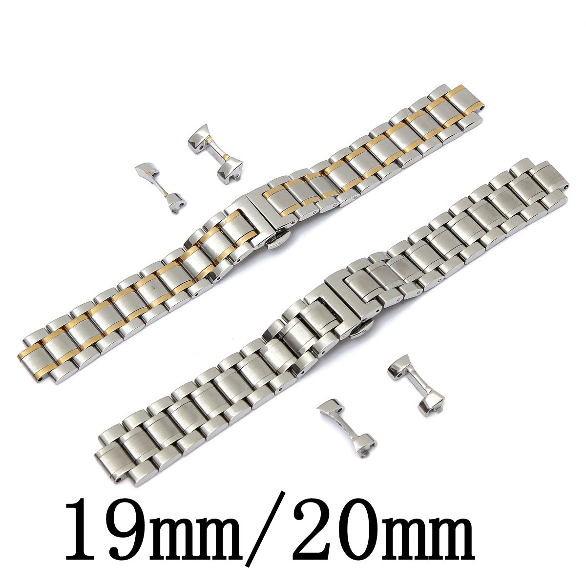 Romantic Design Sliver Watch Band 19mm/20mm Stainless Steel Watch Band Strap Curved End For LONGINES Men Series(China (Mainland))