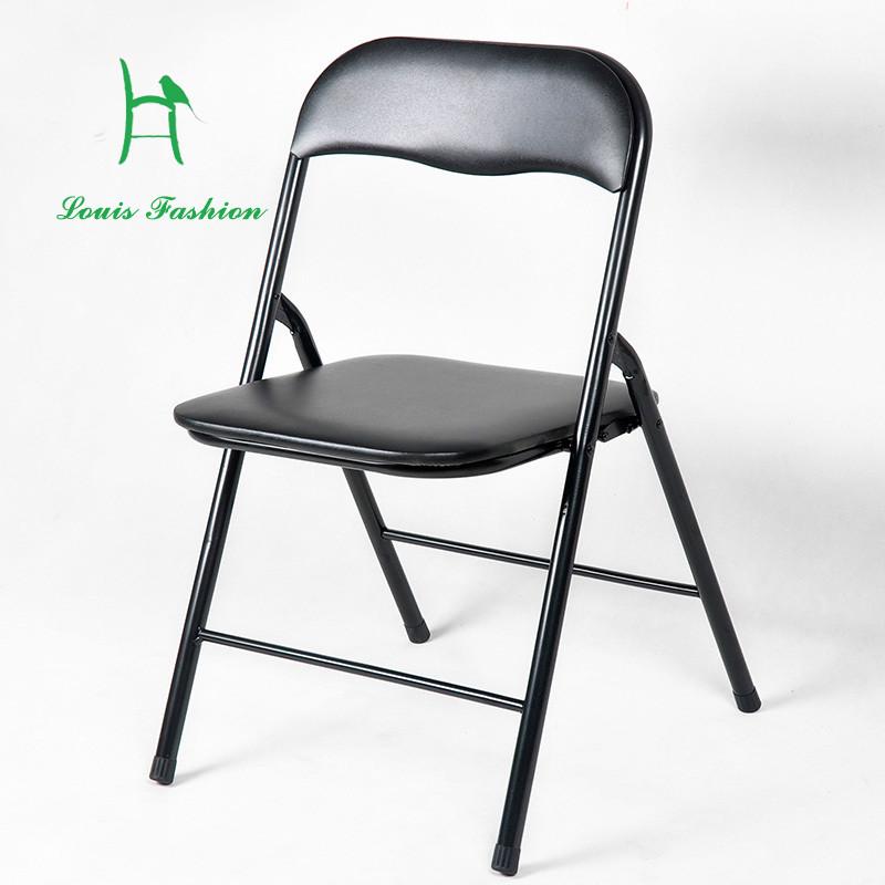 Compra sillas plegables de metal barato online al por for Silla computadora