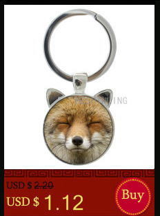 Vintage black wolf with flower rose keychain Snarl Snow Wolf keyring dire  wild animal charms key chain ring holder jewelry CN782 - us626 9c20ca0f8c6ce