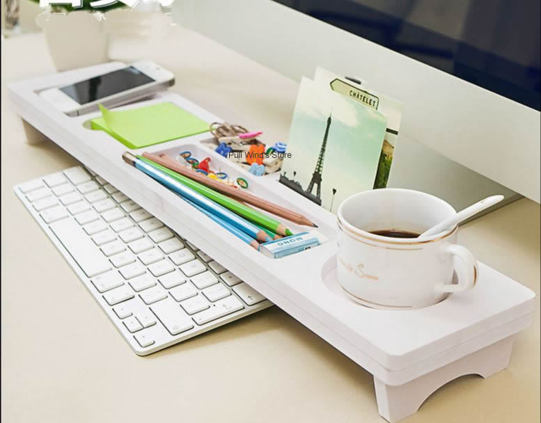 Buy creative desk organizers box simple - Desk organizer white ...