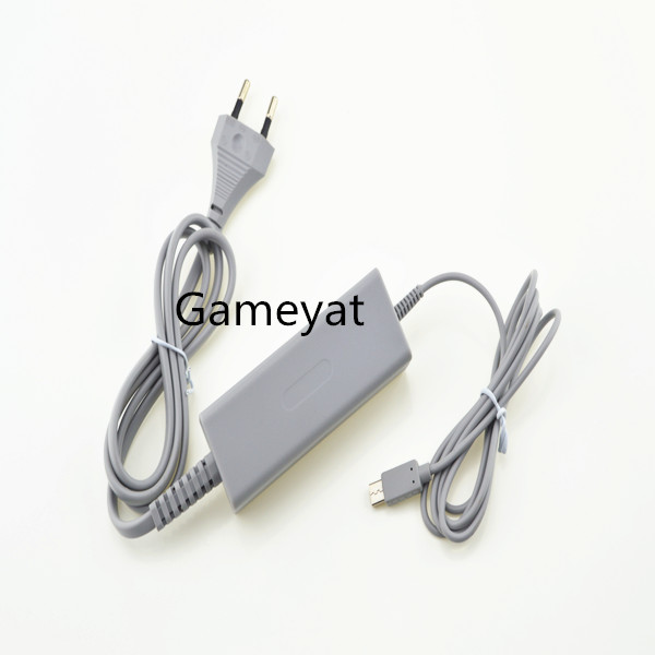 New EU US Type Plug Wall AC Adapter Power Charger For Nintendo For Wii U Gamepad Controller Free Shipping(China (Mainland))