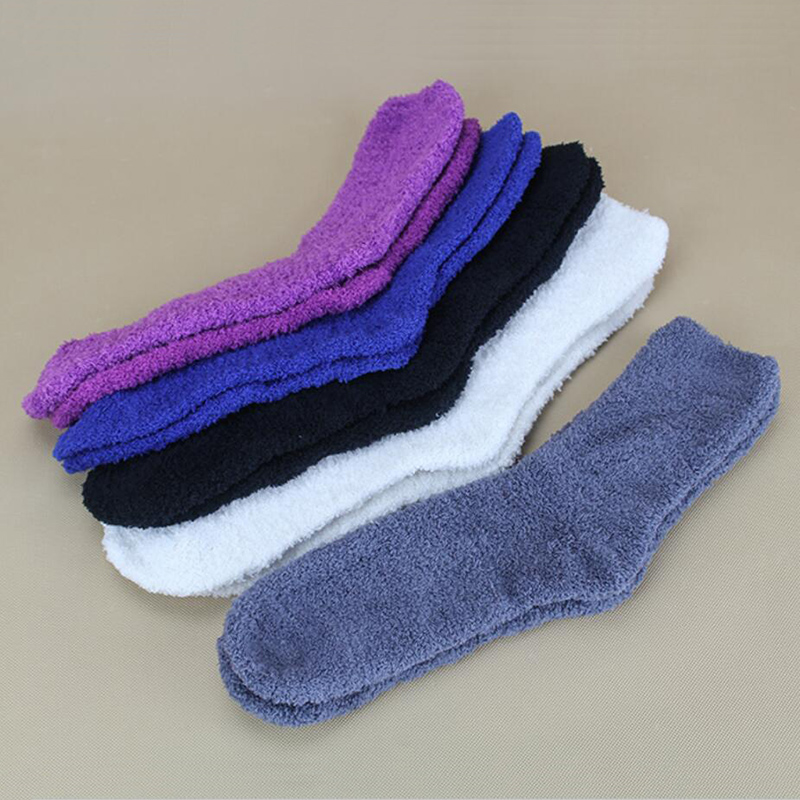 2016 Fall Winter Fashion Men/Women Indoor Floor Socks Soft Casual Warm Boot Socks For Male/Female Ladies Cosy Slippers Sock XP15(China (Mainland))