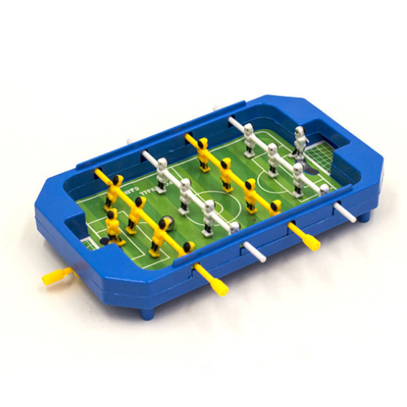 Mini Desktop Plastic Foosball Board Table Football Toy Children Tabletop Soccer Table Game Sports Toys for Kids Fast Shipping(China (Mainland))