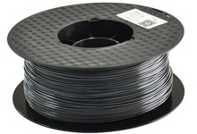 Low Smoke Odourless HIPS 3D Printer Filament Black 3mm Diameter 1KG
