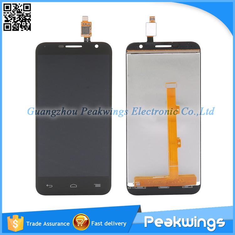 Здесь можно купить  5pcs/lot LCD Screen Digitizer Display Assembly FOR Alcatel One Touch OT6016X OT6016 6016 OT6016D 6016D  Телефоны и Телекоммуникации