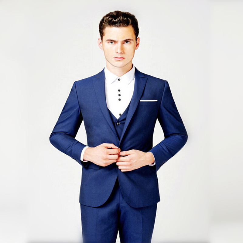 Online Buy Wholesale suits men royal blue from China suits men