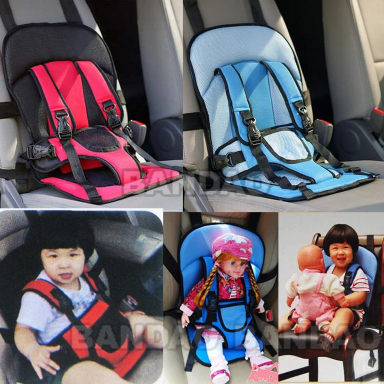 portable baby kids infant children car safety booster seat cover cushion multi function chair. Black Bedroom Furniture Sets. Home Design Ideas
