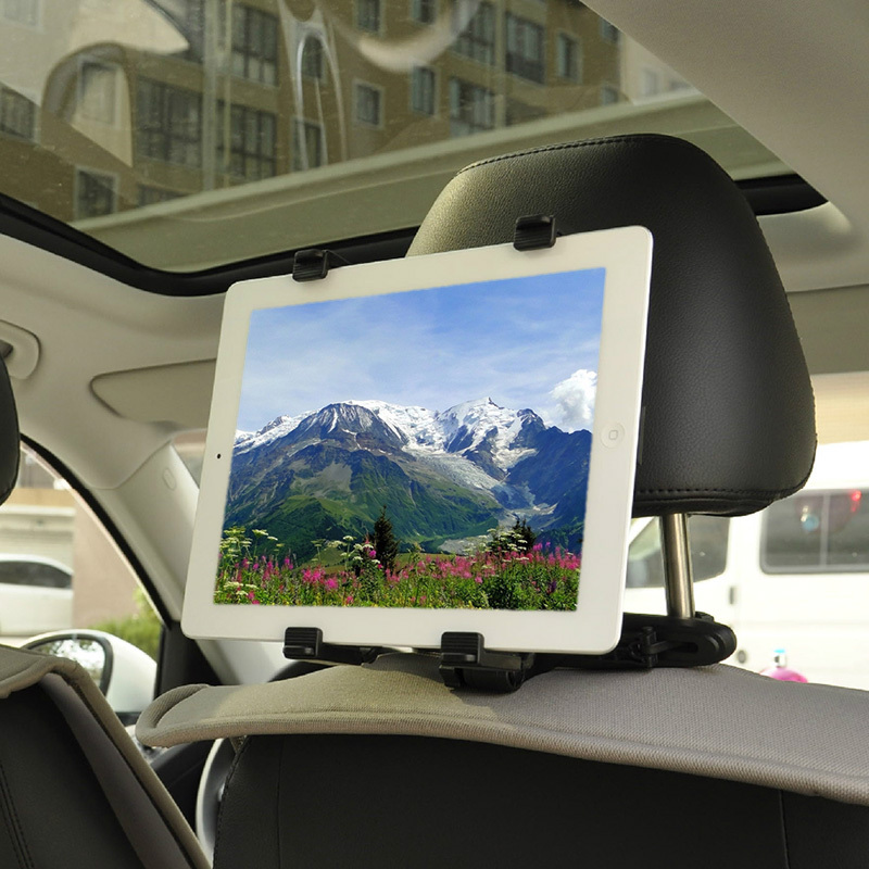 Universal Portable Tablet PC Stands Car Holder For Tablet iPad Samsung Pad Adjustable Soporte Mount Bracket 8-13 Inch IT12-P64(China (Mainland))
