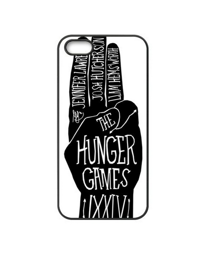 The Hunger Games Catching Fire Full Protection Durable Cover Case for iPhone 5 5S(China (Mainland))