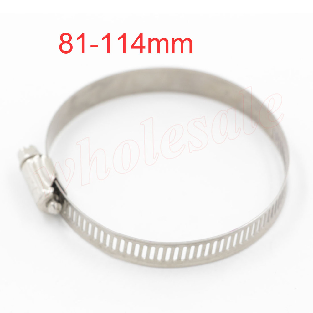 High Quality Hose Clamp 81-114mm Stainless Steel 20pcs/lot  <br><br>Aliexpress