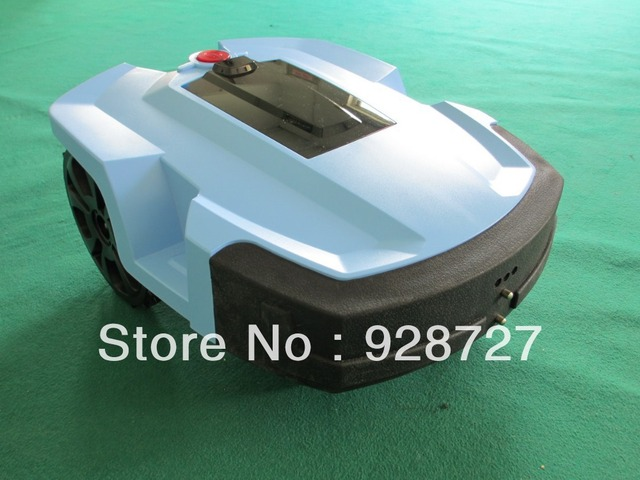 Super Lithium Battery Generation Robot Lawn Mower LCD display and Remote Controller,L600 plus