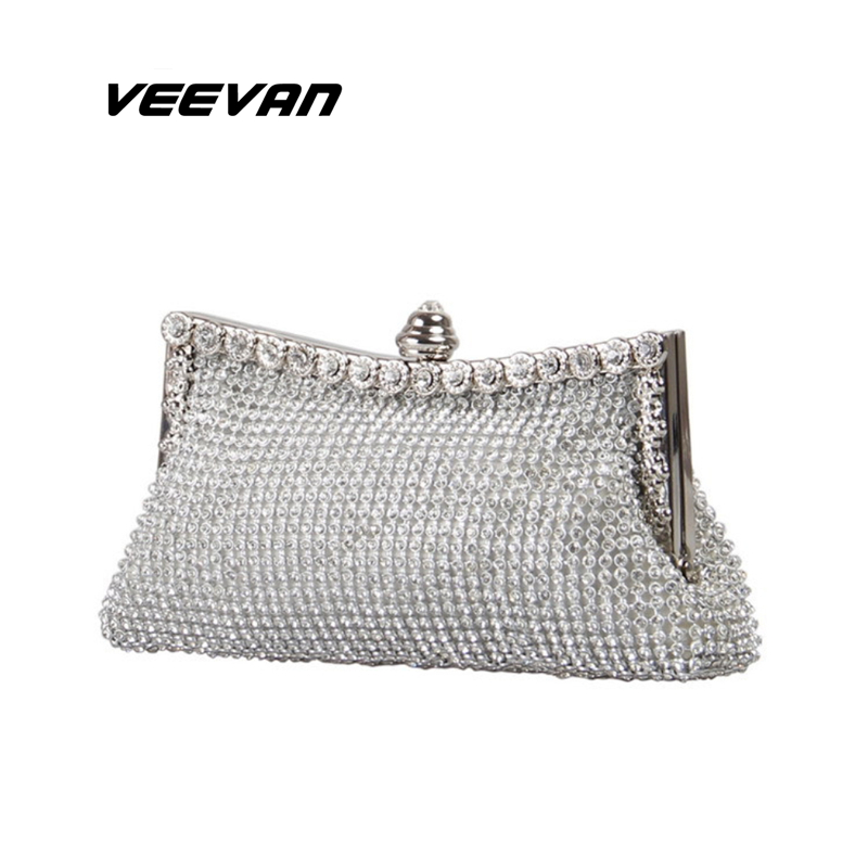 VN Women clutch in Women's clutches ladies crystal evening bags luxury diamond party bag women handbag shoulder bags tote(China (Mainland))